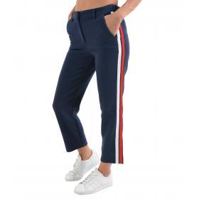 Pantalone Tommy Jeans con banda laterale da donna rif. DW0DW05315