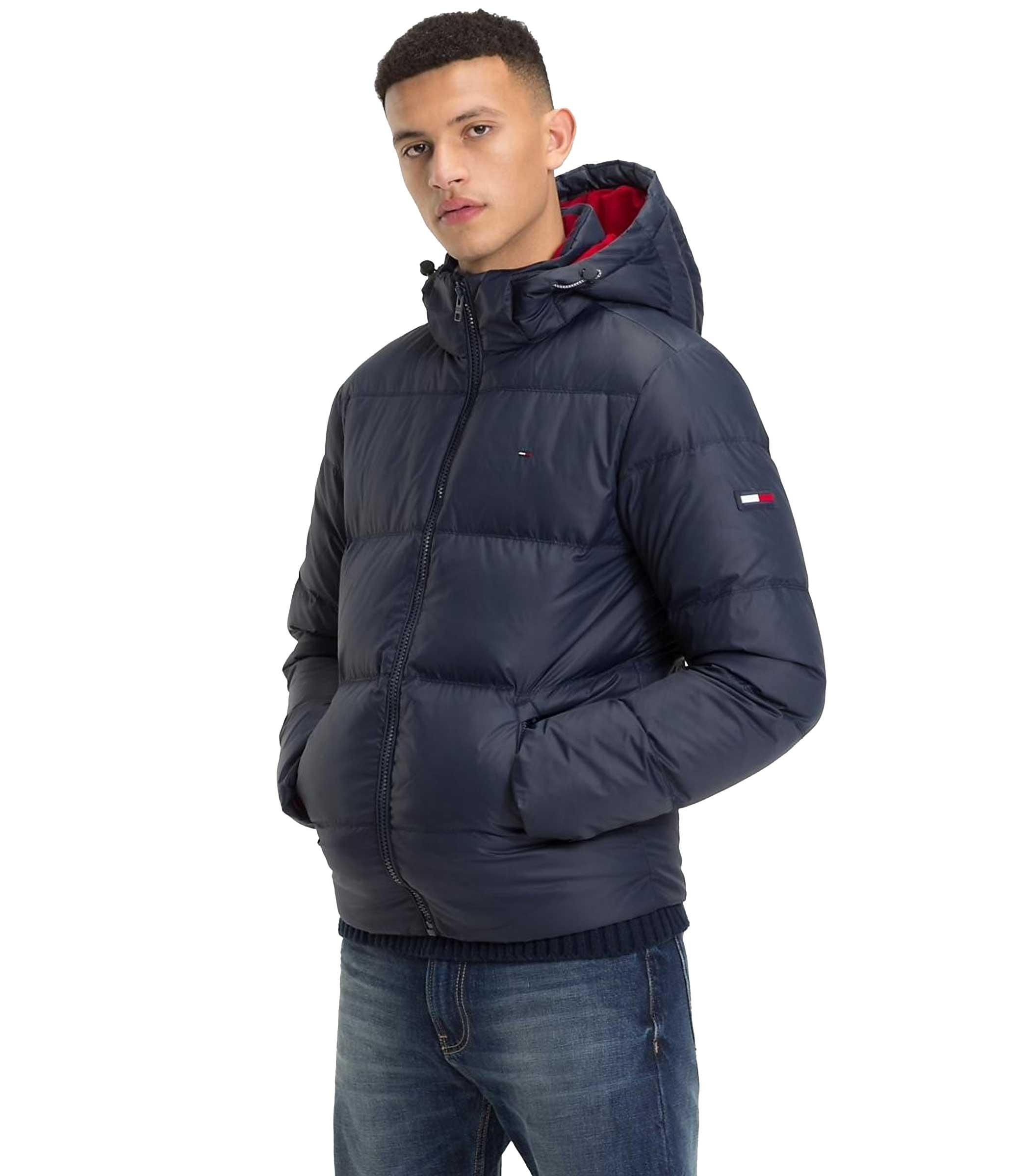Giubbotto Tommy Jeans Hooded Parka Jacket da uomo rif. DM0DM04998 b3d7a287012