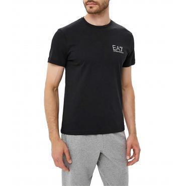 T-shirt Emporio Armani EA7 con stampa da uomo rif. 6ZPT27 PJA2Z