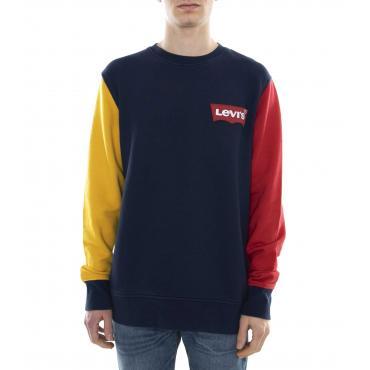 Felpa Levi's Modern Logo Crewneck Sweatshirt da uomo rif. 56606-0004