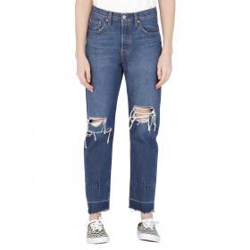 Jeans LEVI'S 501 Cropped original da donna rif. 36200-0030