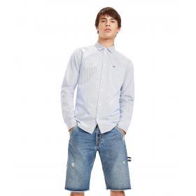Camicia Tommy Jeans in puro cotone a righe da uomo rif. DM0DM05992