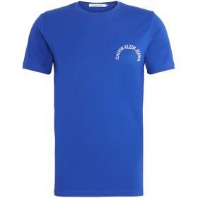 T-shirt Calvin Klein Jeans con logo tondo da uomo rif. J30J311473