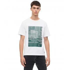 T-shirt Calvin Klein Jeans stampa pixel da uomo rif. J30J309581