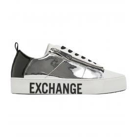 Sneakers Armani Exchange effetto specchiato da donna rif. XDX005 XV112 N627