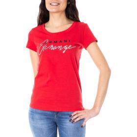 T-shirt Armani Exchange con applicazioni da donna rif. 3GYTCH YJX9Z