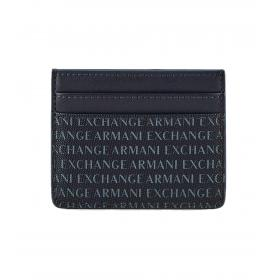 Porta carte Armani Exchange con logo all over da uomo rif. 958053 CC230