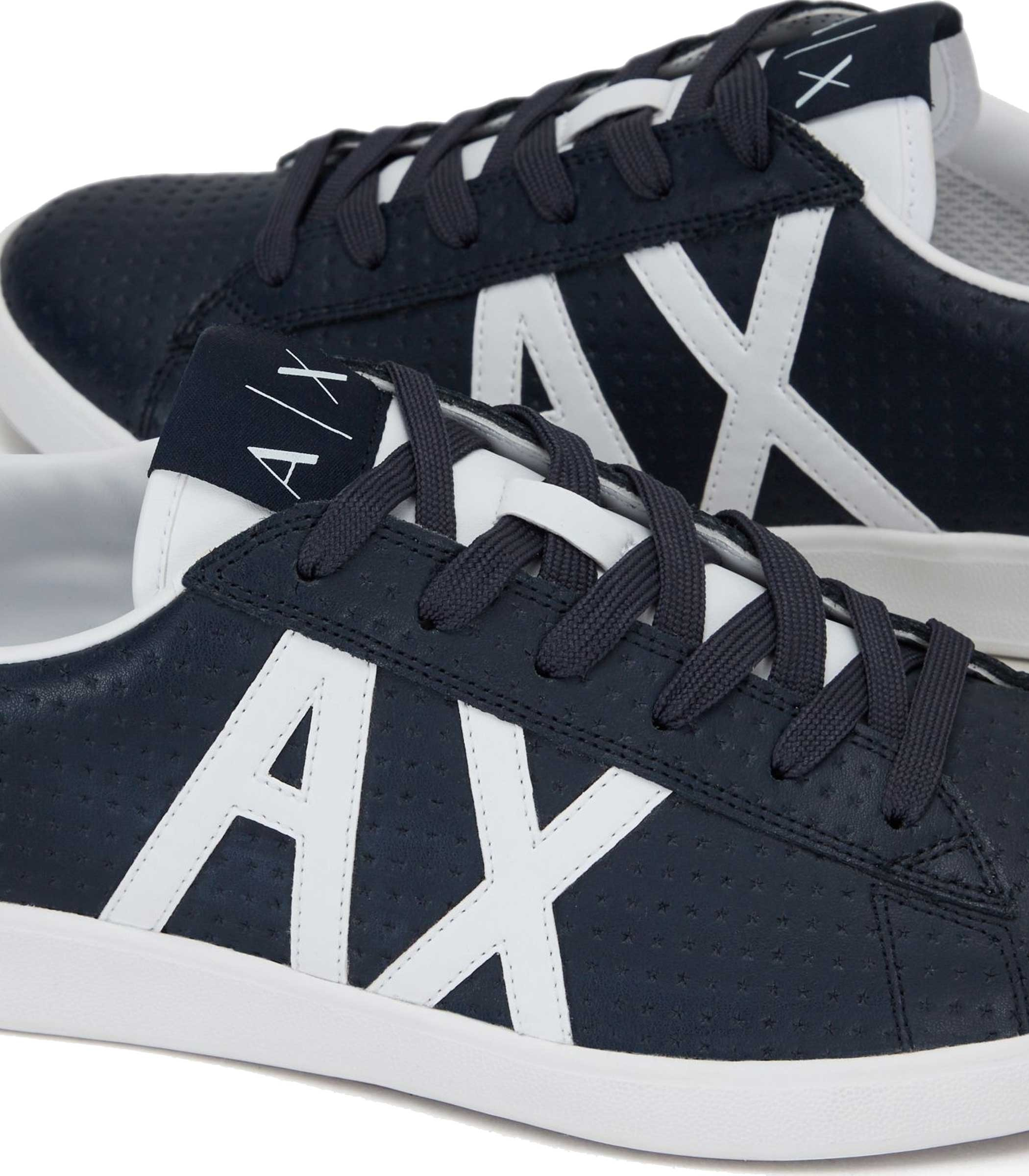 Sneakers Armani Exchange con logo da uomo rif. XUX016 XCC03 K463 01128ae3260