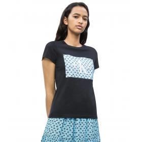 T-shirt Calvin Klein Jeans con logo floreale da donna rif. J20J210780
