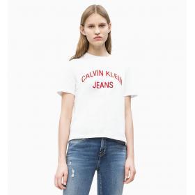 T-shirt Calvin Klein Jeans con logo da donna rif. J20J210743