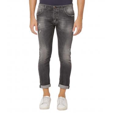 Jeans OUTFIT cinque tasche denim grey da uomo rif. OF1S1S9D022