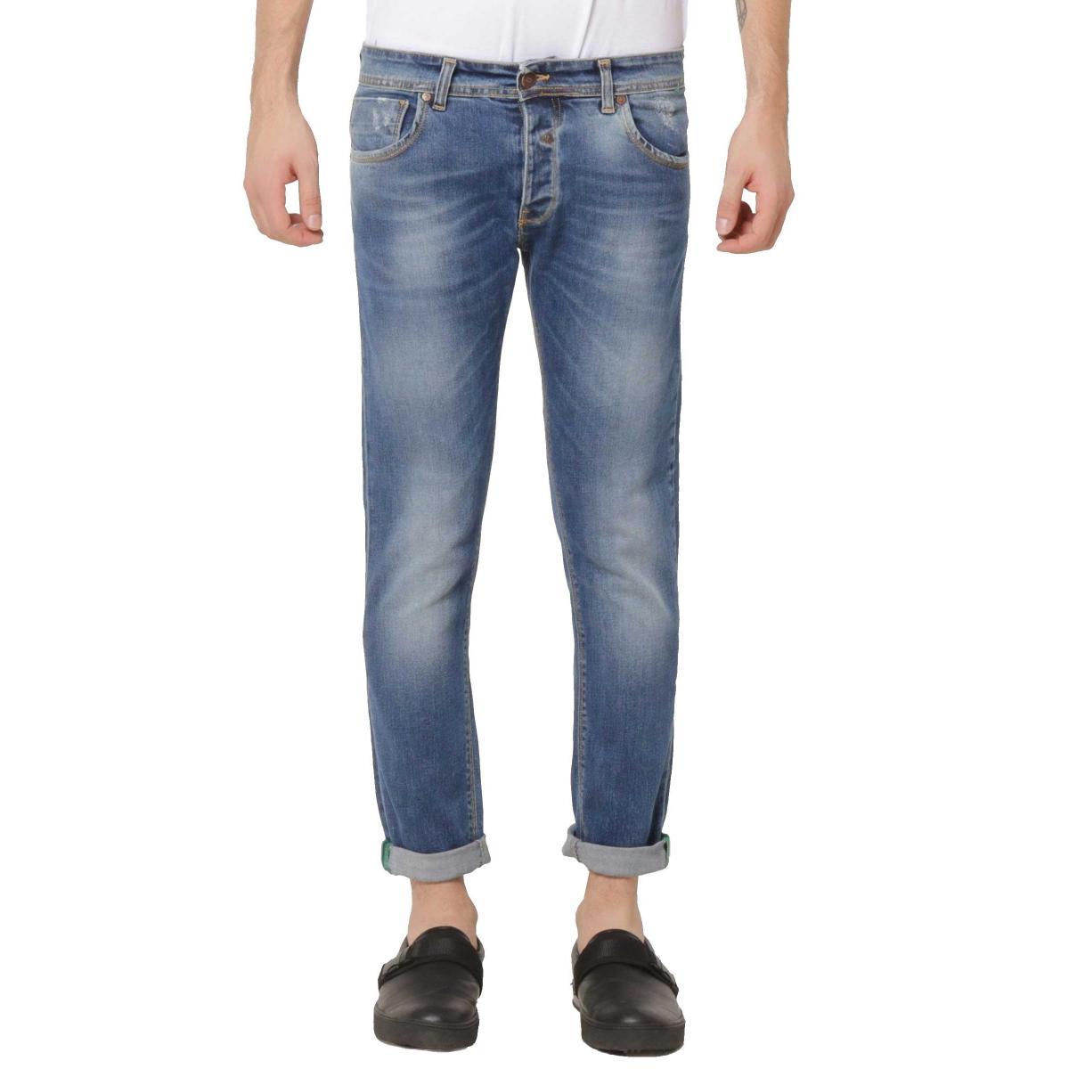 Jeans OUTFIT cinque tasche a sigaretta da uomo rif. OF1S1S9D023