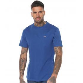 T-shirt Tommy Jeans con logo sul petto da uomo rif. DM0DM06061