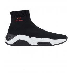 Sneakers Armani Exchange collo alto da uomo rif. XUZ009 XV071 00002