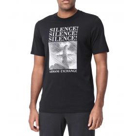 01c1af6d310 T-shirt Armani Exchange con stampa e scritte da uomo rif. 3GZTLC ZJH4Z