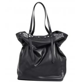Shopping bag Armani Exchange con borchie da donna rif. 942508 9P104