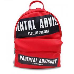 Zaino Parental Advisory con stampa logo unisex rif. AD853