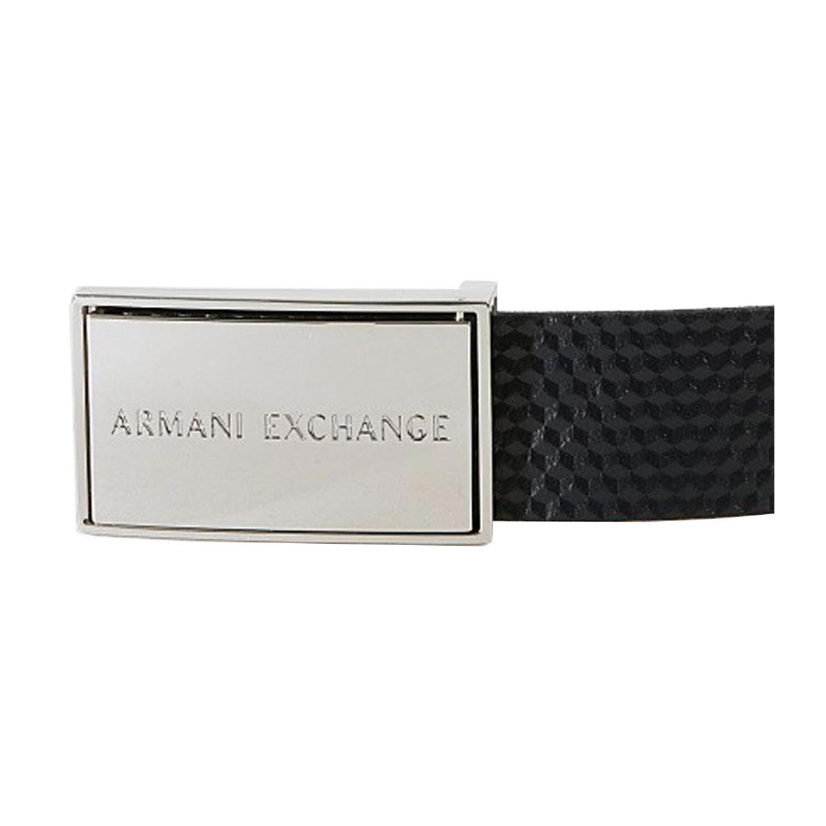 Cintura Armani Exchange reversibile da uomo rif. 951105 9P176 06439