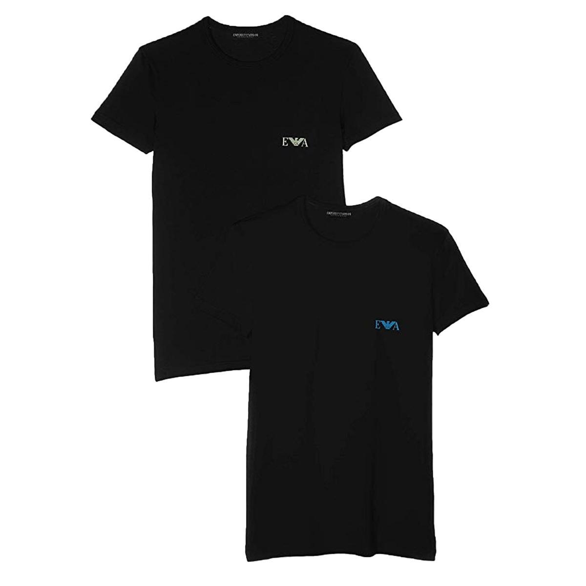 T-shirt Intime Emporio Armani 2 Pack da uomo rif. 111670 9P715