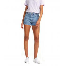 Shorts Tommy Jeans in denim con monogrammi da donna rif. DW0DW06364