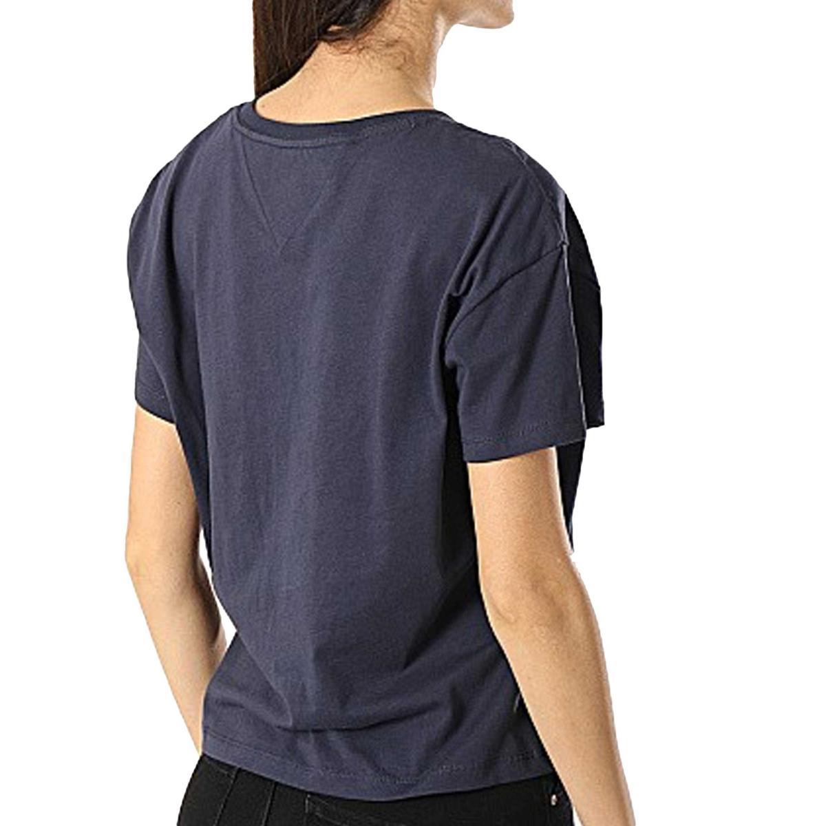 T-shirt Tommy Jeans con stampa sul petto da donna rif. DW0DW06229