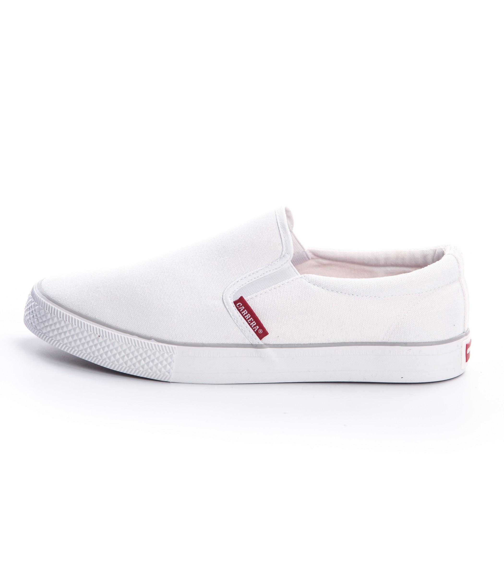 Scarpe Sneakers Carrera basse in tela senza lacci da uomo