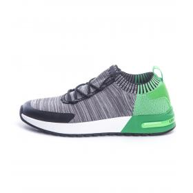 Sneakers Armani Exchange con logo da uomo rif. XUX025 XV069 L069