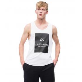 Canotta Calvin Klein Performance con stampa con logo da uomo rif. 00GMS9K243