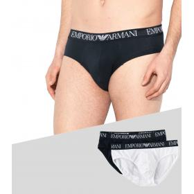 Slip Emporio Armani 2 Pack Endurance Stretch Cotton da uomo rif. 111733 9P720