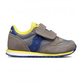 Scarpe Sneakers Saucony BABY JAZZ HL GREY/BLUE da bimbo rif. SL261033