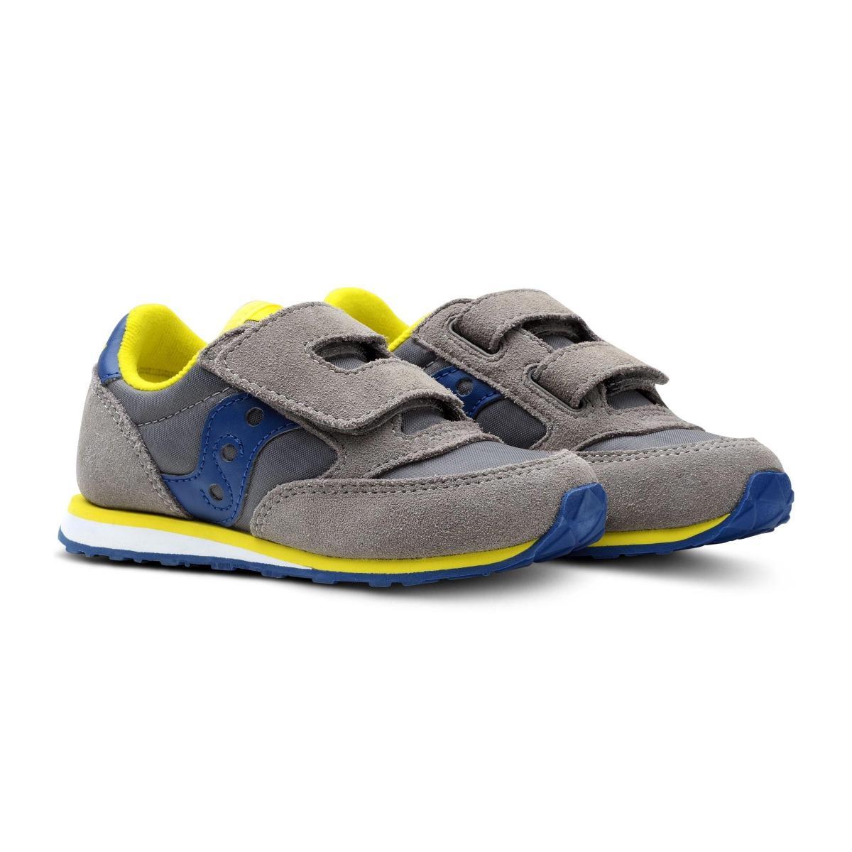 Sneakers Saucony BABY JAZZ HL GREY/BLUE da bimbo rif. SL261033