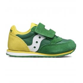 Sneakers Saucony BABY JAZZ HL GREEN/YELLOW da bimbo rif. SL261032