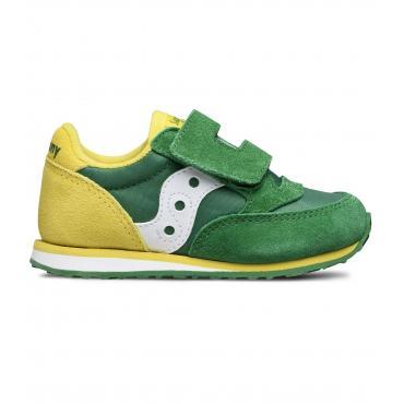 Scarpe Sneakers Saucony BABY JAZZ HL GREEN/YELLOW da bimbo rif. SL261032