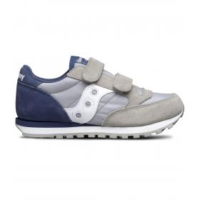 Scarpe Sneakers Saucony JAZZ DOUBLE HL GREY/BLUE da bambino rif. SK261009
