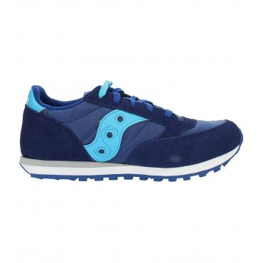 Scarpe Sneakers Saucony JAZZ ORIGINAL BLUE da bambino/ragazzo rif. SK260999