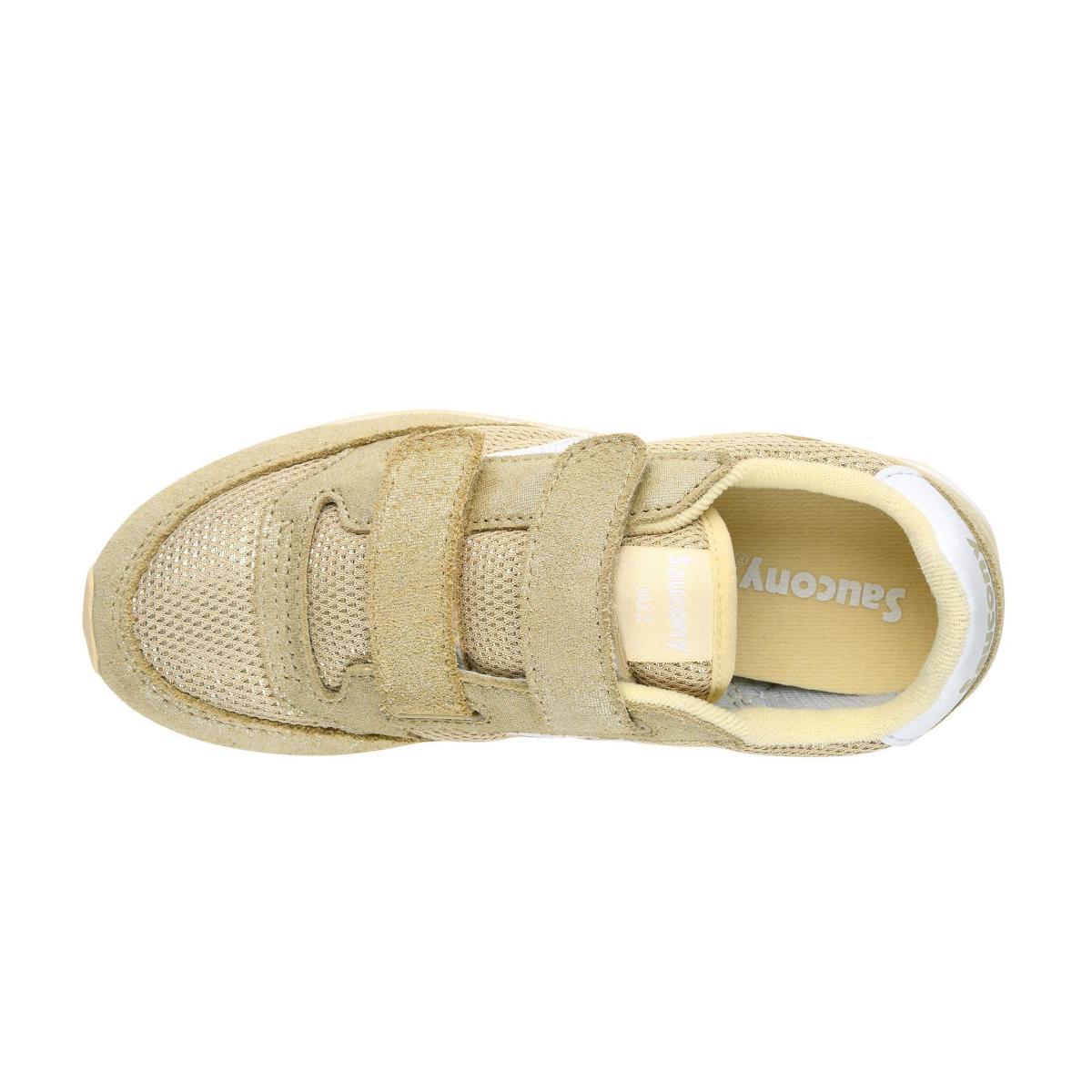 Scarpe Sneakers Saucony JAZZ DOUBLE HL GOLD/SPARK da bambina rif. SK161218