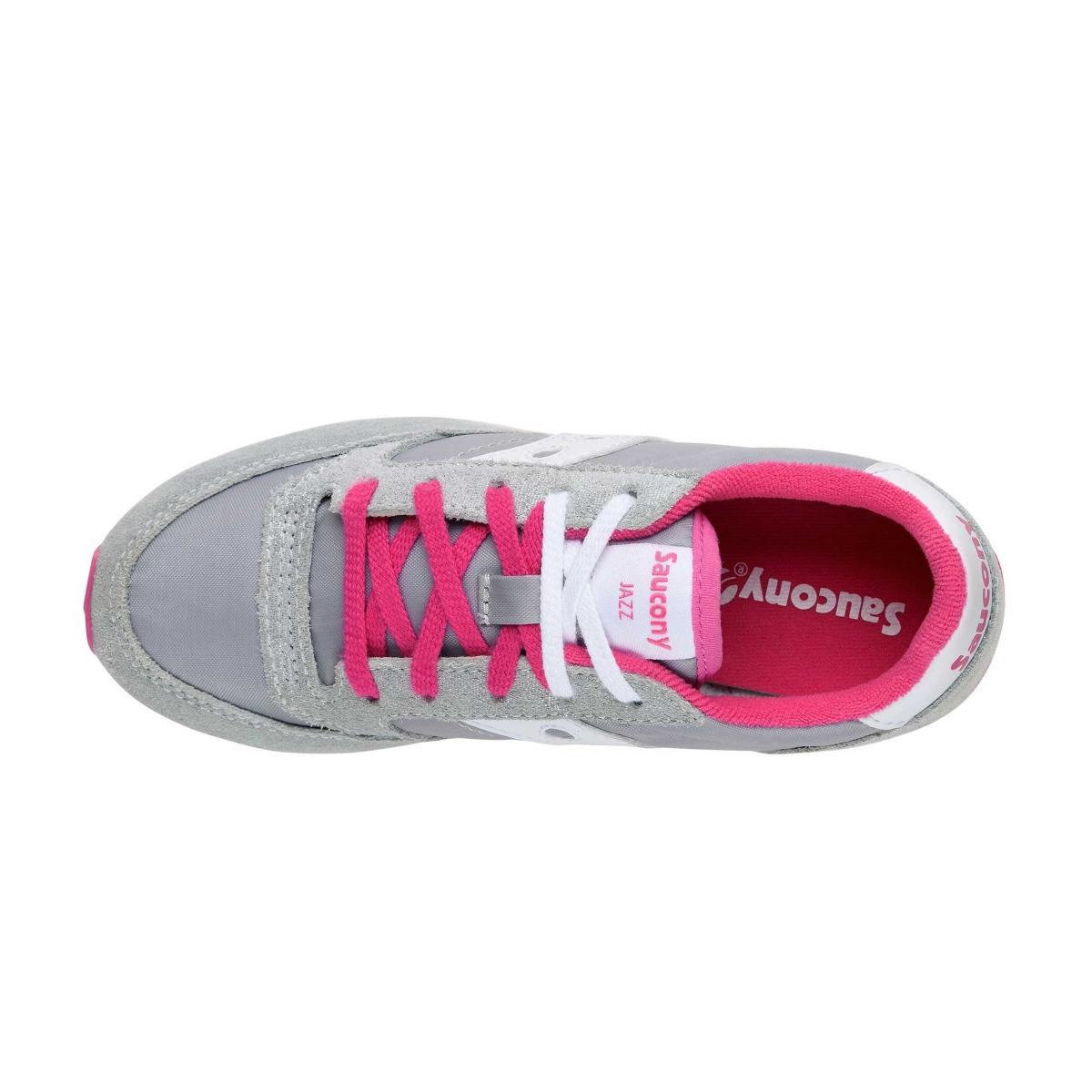 Scarpe Sneakers Saucony JAZZ ORIGINAL SILVER/GREY da bambina/ragazza rif. SK161005