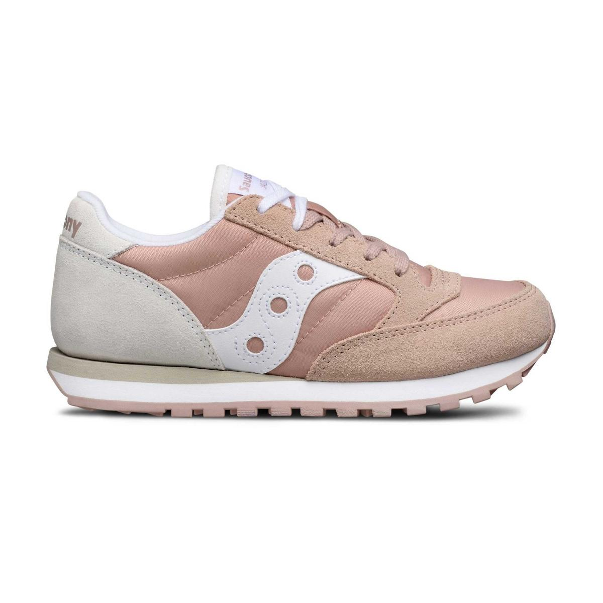 Scarpe Sneakers Saucony JAZZ ORIGINAL PINK/CREAM da bambina rif. SK161004