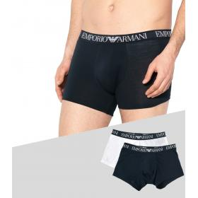 Boxer Emporio Armani 2 Pack Endurance Stretch cotton da uomo rif. 111769 9P720