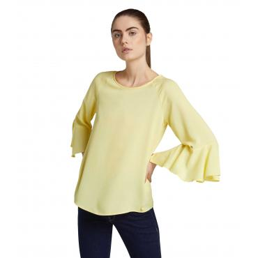 Camicia Blusa Trussardi regular fit in crepe da donna rif. 56C00196 1T002288
