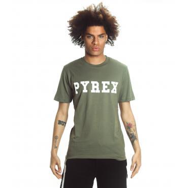 T-shirt PYREX con stampa con logo sul petto da uomo rif. 19EPB34200