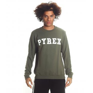 Felpa Pyrex con stampa con logo sul petto da uomo rif. 19EPB40030