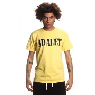 T-shirt ADALET girocollo con stampa sul petto da uomo rif. AD061