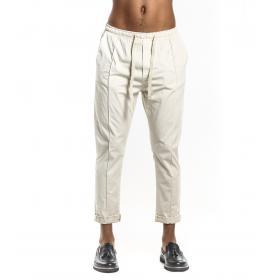 Pantaloni OUTFIT cavallo basso con elastico e laccio in vita da uomo rif. OF1S1S9P051