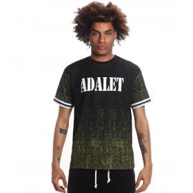 T-shirt ADALET girocollo con stampa fluo da uomo rif. AD107