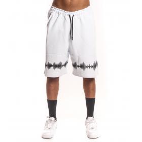 Bermuda shorts White in tuta con stampe da uomo rif. W19228