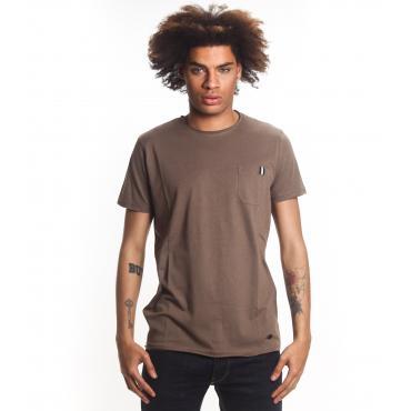 T-shirt OUTFIT girocollo in tinta unita da uomo rif. OF1CT00T002