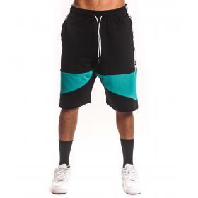 Bermuda shorts White con bande laterali e stampa da uomo rif. W19212