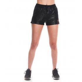Shorts Emporio Armani EA7 animalier da donna rif. 3GTS60 TJU7Z