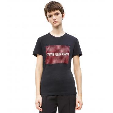 T-shirt Calvin Klein Jeans con logo a stella da donna rif. J20J211215